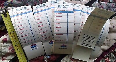 LOT of 20 NEW OLD STOCK  STANDARD MOTOR OIL CHANGE STICKERS very clean