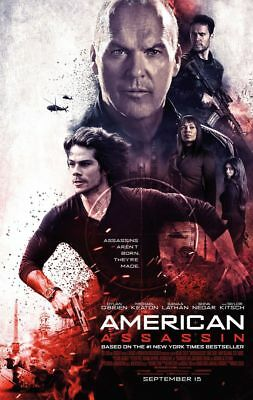 American Assassin - original DS movie poster - 27x40 D/S FINAL
