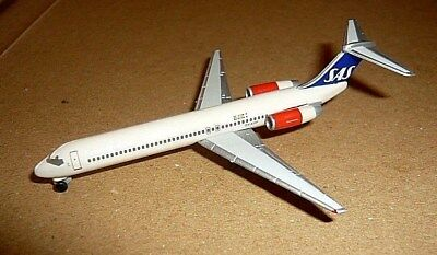 "Scandinavian Airlines SAS -Boeing McDonnell Douglas MD-87-""OY-KHF""Ragnar Viking"""