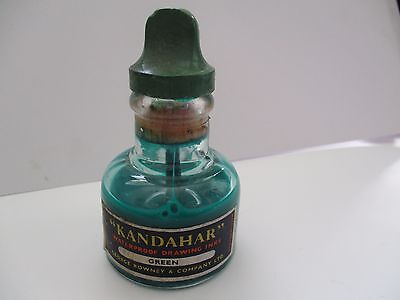 Vintage Bottle Of Kandahar Waterproof Drawing Ink