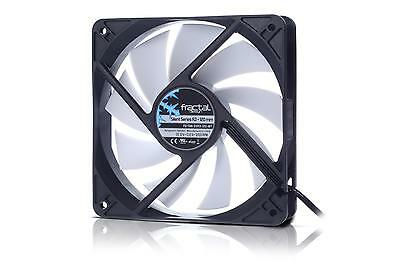 Lot of 4 Fractal Design Silent Series 140mm White Cooling Fan FD-FAN-SSR3-140-WT