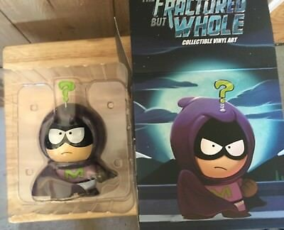 """The Fractured But Whole Mysterion Figure SUPERCOOL Glows 7"""" Kidrobot South Park"""