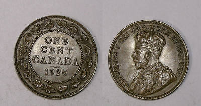 1920 Canada Large Cent Flashy Brown Choice Unc. Inv#325-39