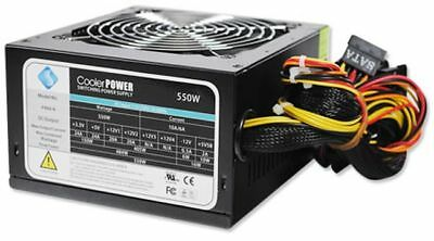 NEW ATX Computer Power Supply/Supplies PSU 550W for PC/Desktop Tower Case Unit