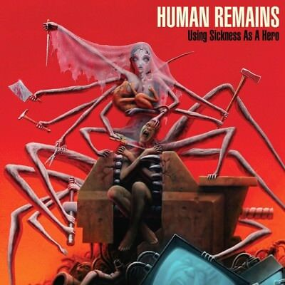 Human Remains - Using Sickness As A Hero (Black Vinyl+MP3) Vinyl LP Relapse NEU