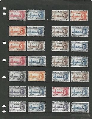 British Commonwealth (1945-6) #cd303  Peace Issue - Base Set Mlh