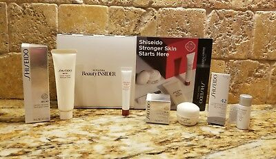Sephora Beauty Insider~SHISEIDO~Stronger Skin Starts Here 4pc Set *BRAND NEW*