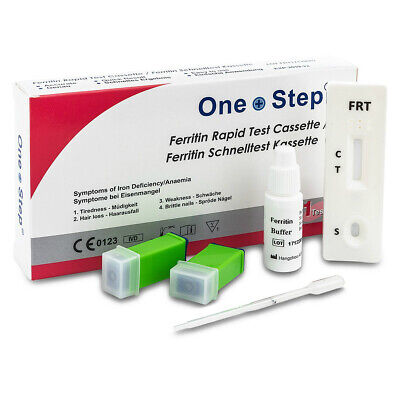 Anemia Test Iron Deficiency Anaemia Ferritin in Blood Test - One Step