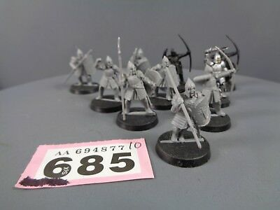 Warhammer Hobbit Lord Of The Rings Men Warriors of Minas Tirith Clearance 685