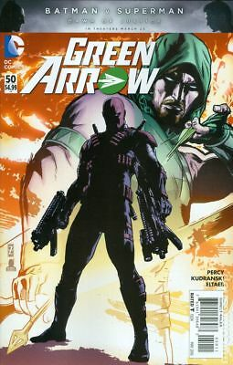 Green Arrow (4th Series) #50A 2016 FN Stock Image