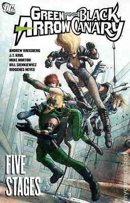 Green Arrow/Black Canary Five Stages TPB #1-1ST 2010 NM Stock Image