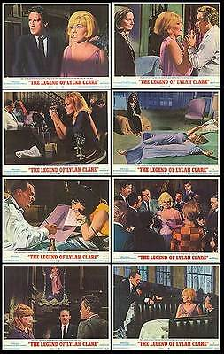 THE LEGEND OF LYLAH CLARE orig 1968 lobby card set KIM NOVAK 11x14 movie posters