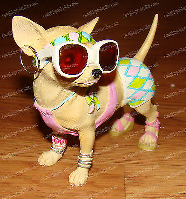 Fashionista (Aye Chihuahua Collection by Westland Giftware, 13332) Beach Pup