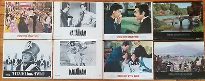 Lot of 8 Original Lobby Cards: Gone With The Wind, Manhattan and  More