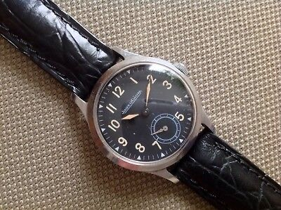 Jaeger Le Coultre Rare Vintage Military Pilot 1940 WWII Hand Wind P469/C Manuale