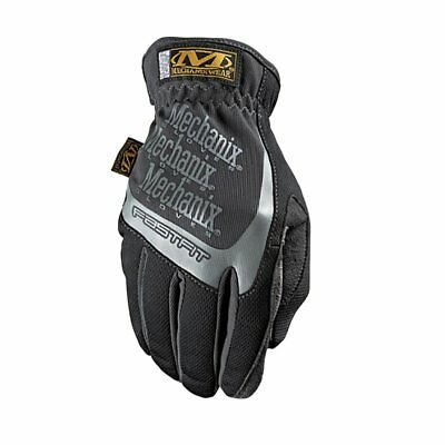 Mechanix Fast Fit Mens Gloves - Black All Sizes