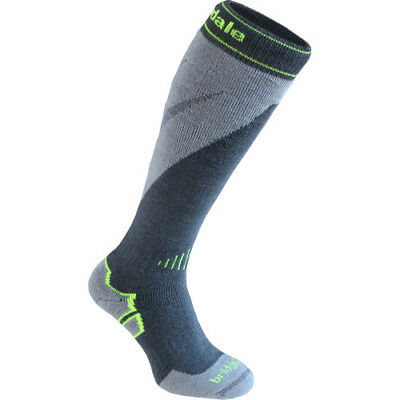 Bridgedale Mountain Mens Underwear Ski Socks - Gunmetal Stone All Sizes