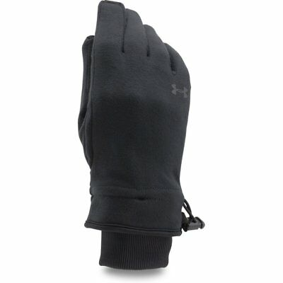 Under Armour Storm Fleece Womens Gloves - Black All Sizes