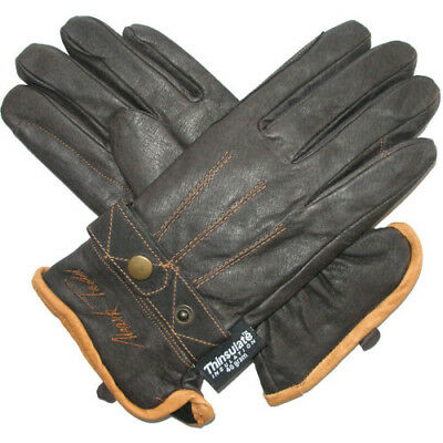 Mark Todd Winter With Thinsulate Womens Gloves Everyday Riding Glove - Brown