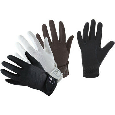 Woof Wear Grand Prix Womens Gloves Competition Glove - White All Sizes