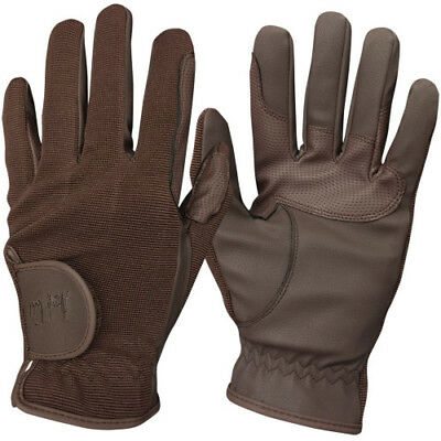 Mark Todd Super Riding Unisex Gloves Competition Glove - Brown All Sizes