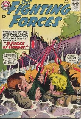 Our Fighting Forces #86 1964 GD/VG 3.0 Stock Image Low Grade