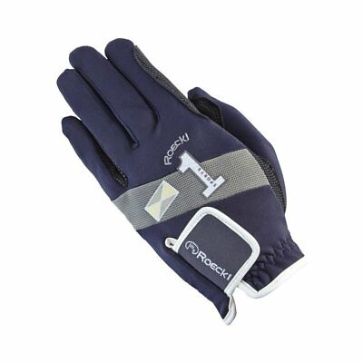Roeckl Advanced Sport Unisex Gloves Everyday Riding Glove - Nightblue All Sizes