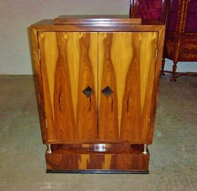 -Art Deco Chest Drawers Cabinet Commode special Rosewood