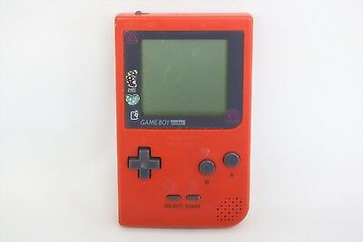 JUNK Nintendo Game Boy Pocket Gameboy RED Console MGB-001 Not Working 1344 gb