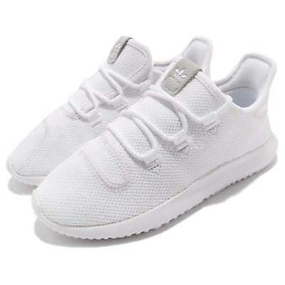 adidas Originals Tubular Shadow C Knit White Kids Junior Running Shoes  CP9470 69a34740c4f