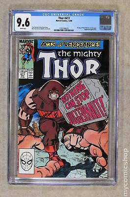 Thor (1st Series Journey Into Mystery) #411 1989 CGC 9.6 1252148025