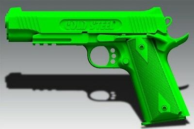 Cold Steel 92RGC11 1911 Demonstrator Green Pistol Trainer Hammer Down Safety Off