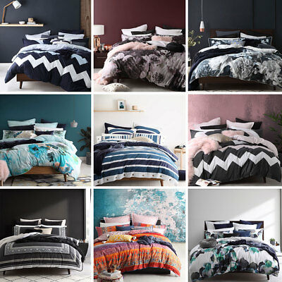 Logan and Mason Doona Duvet Quilt Cover Sets Single/Double/Queen/King Size NEW