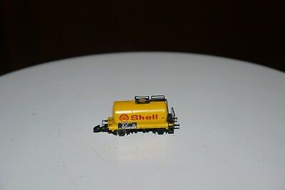 MARKLIN mini club # 8611. Z Scale Model Train SHELL Carrier Freight Car BOXED