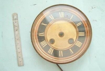 clock makers french clock dial and bezel with bevelled edge glass nice clock spa