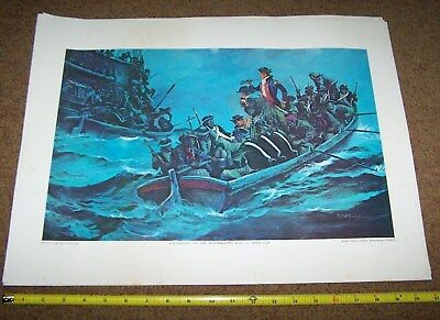 Usmc Art Collection Picture Poster, Colonial Marines *nice*
