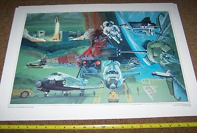 Air Force Art Collection Picture Poster *nice* #7