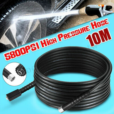 10M 40MPa/5800PSI High Pressure Hose Water Cleaner Washer Pipe M22 X M14 Connect