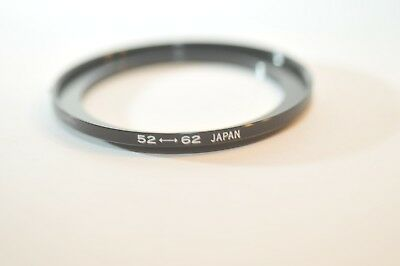 52mm to 62mm Step Up ring for Nikon Canon Sony Tamron Sigma Pentax lens