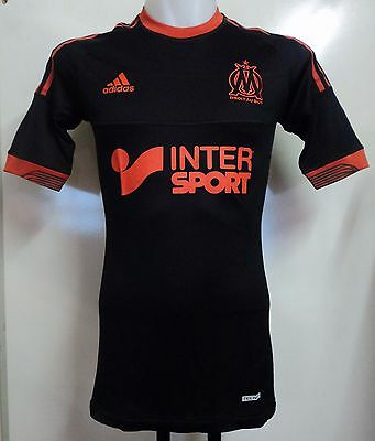 Olympic Marseille Player Issue 2012/13 Techfit 3Rd Shirt By Adidas Size 10 (Xl)