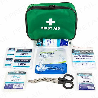 TRAVEL MOTORIST FIRST AID KIT Taxi/Van/Car/Motorbike/Vehicle Burn Scald Bandage
