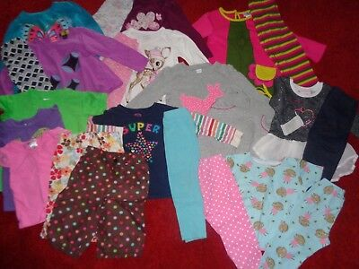 Huge Lot Girls Toddler Clothes Old Navy Nicole Miller Outfits Wardrobe Size 3/3T