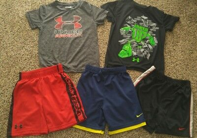 Under Armour Nike Boy 4T Lot of 5!