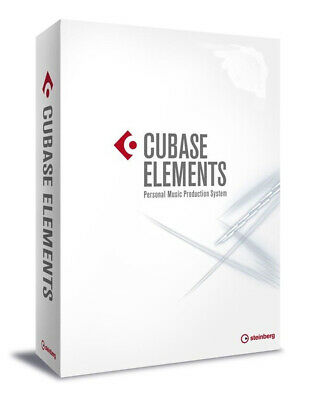 Steinberg Cubase Elements 9.5 Recording Software (Retail Box Version)