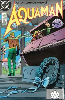 Aquaman (2nd Limited Series) #4 1989 FN Stock Image