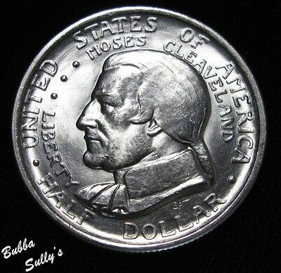1936 Cleveland Great Lakes Expo Commemorative Half Dollar<>ABOUT UNCIRCULATED ++