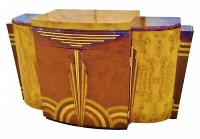 Absolute BEST Credenza Sideboard bar Art Deco forms