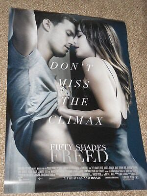 """Fifty Shades Freed """"Final"""" ex 27x40 Original D/S Movie POSTER"""