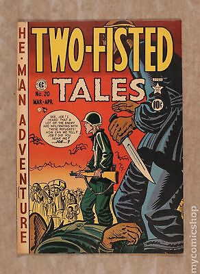 Two Fisted Tales (EC) #20 1951 VG 4.0