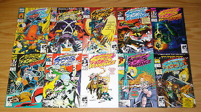 Ghost Rider Blaze Spirits Of Vengeance 1 23 VF NM Complete